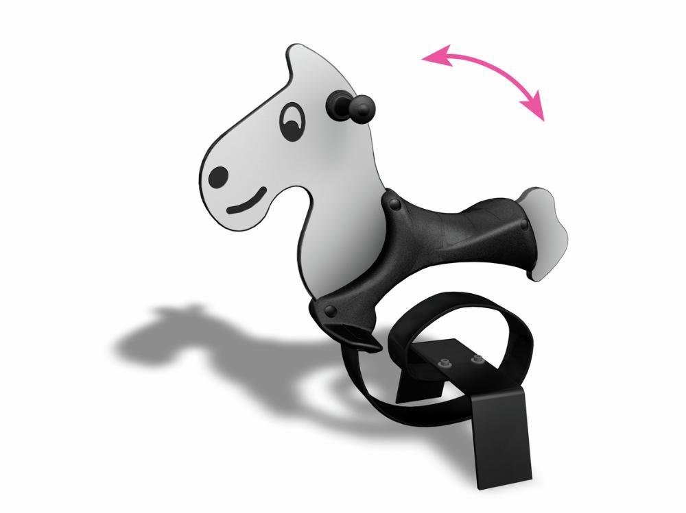 Federtier Pferd