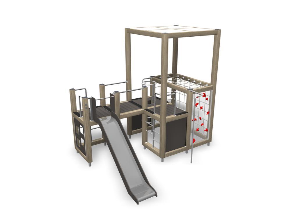 Halo Spielturm mit Rutsche