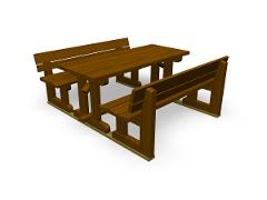 PARK WEEKEND PICNIC TABLE