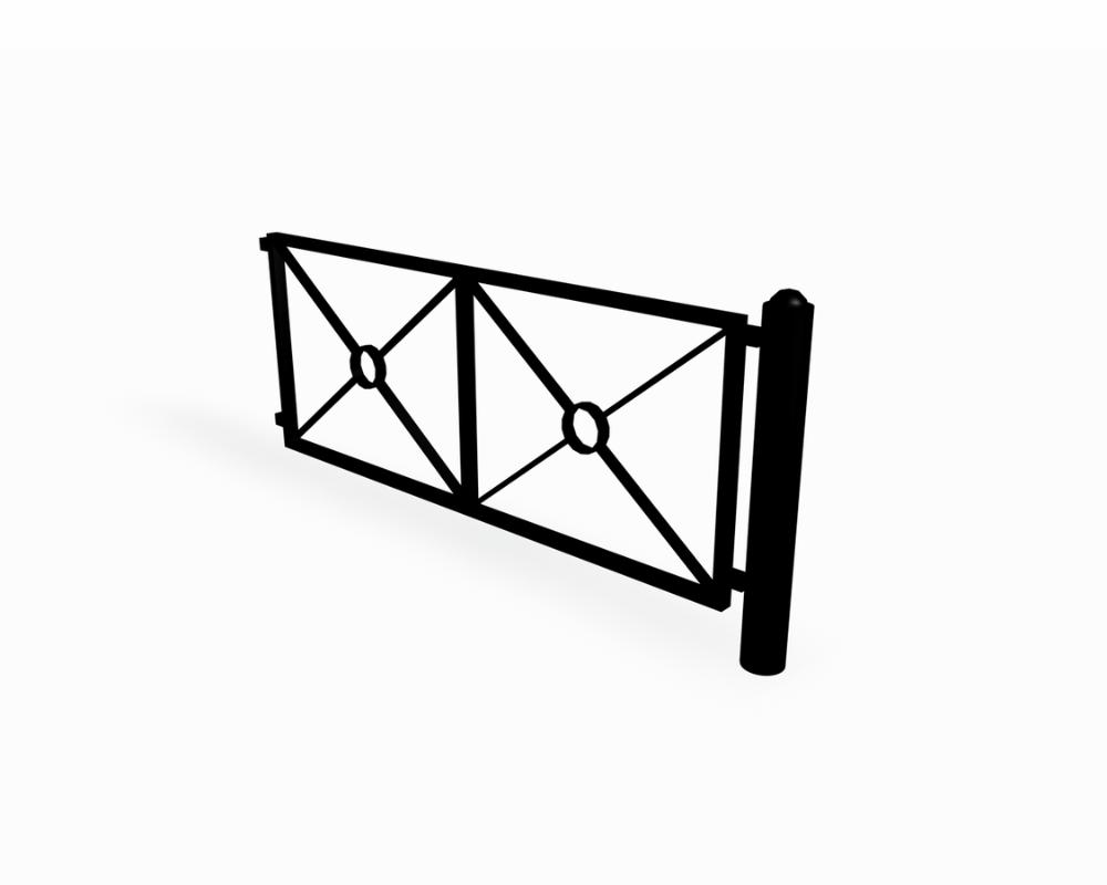 STRÖGET FENCE EXTENSION PIECE (NF9101) - Play, sport and park equipment for outdoors - www ...