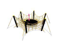 Spider M, gul