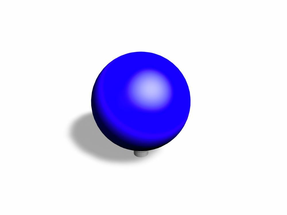 Ball Blau
