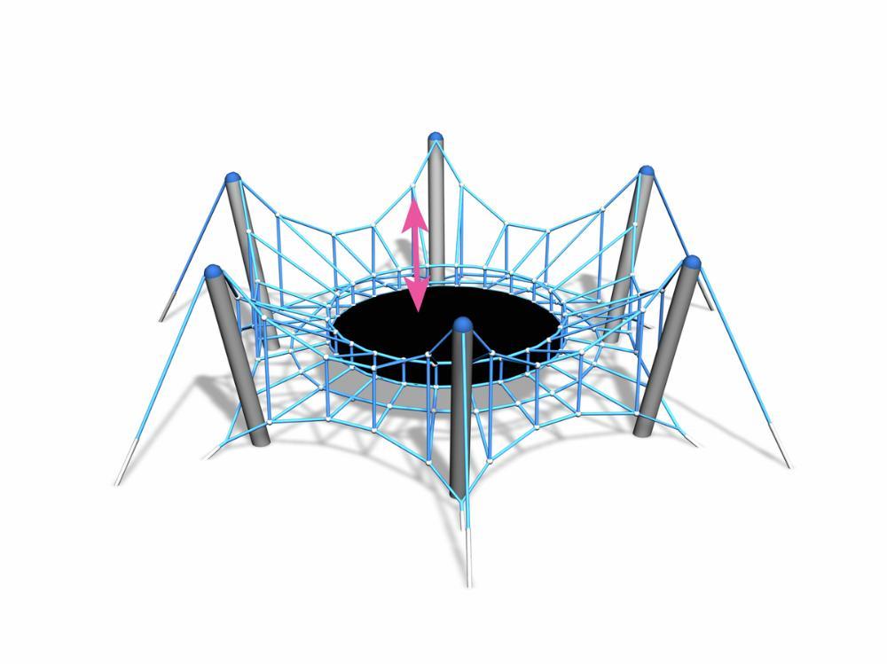 Seilspiel Spider M