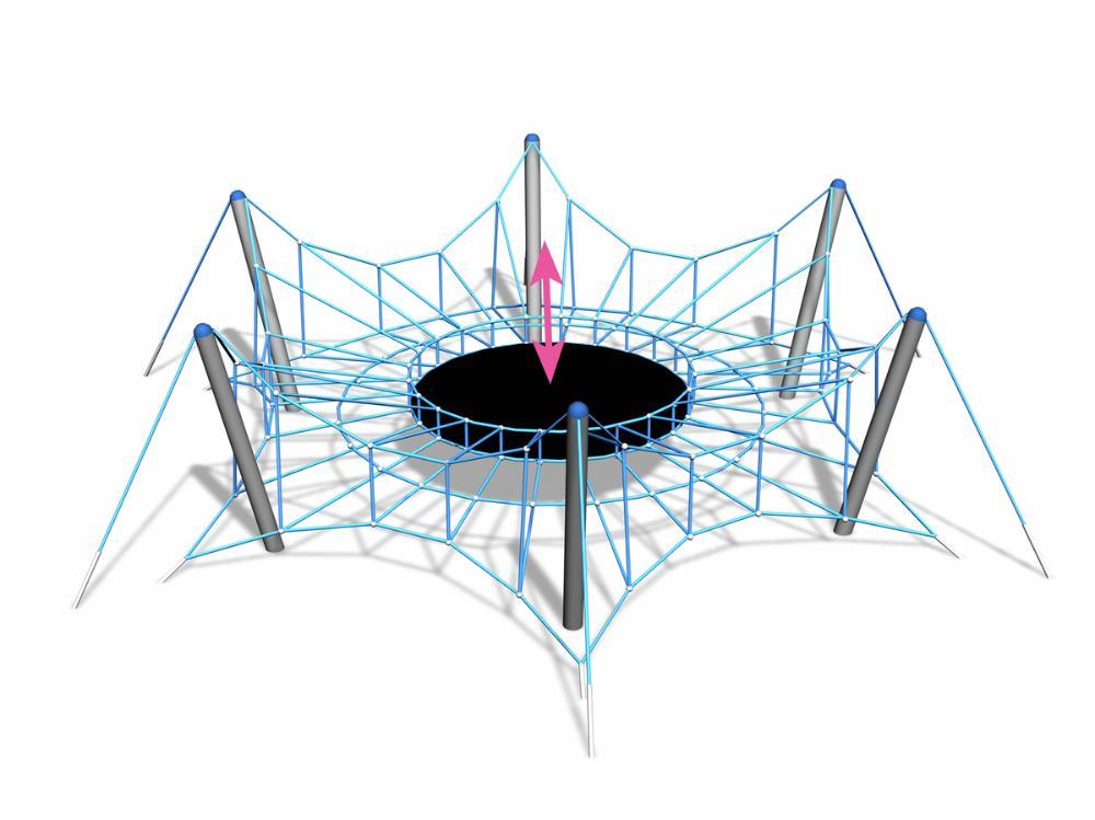 Seilspiel Spider L