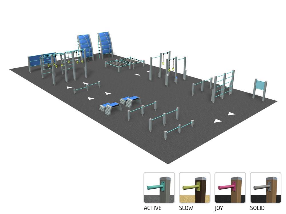 Fitness track L
