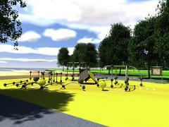 Parkour Park M für Kinder