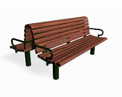 STRÖGET DOUBLE BENCH