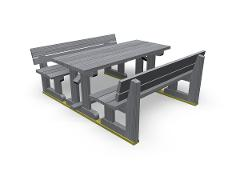 PARK WEEKEND PICNIC TABLE GROUP