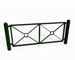 Ströget, staket