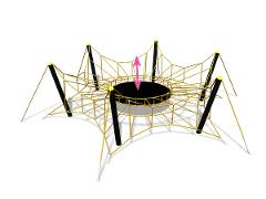 Spider L, gul
