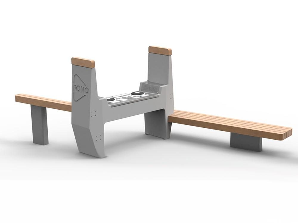 Design Fono DJ pöytä