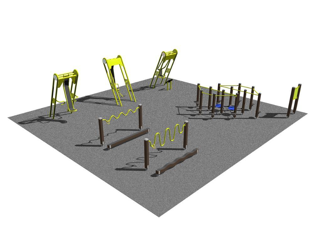 Seniorpark - styrka och balans