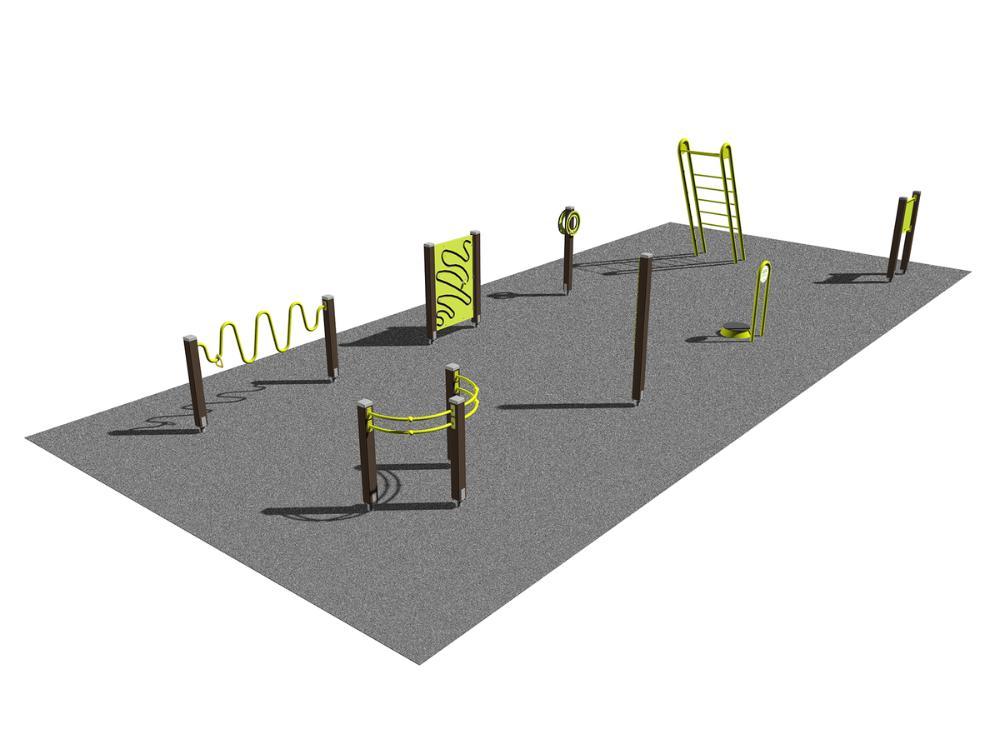 Seniorpark - mobilitet och överkropp