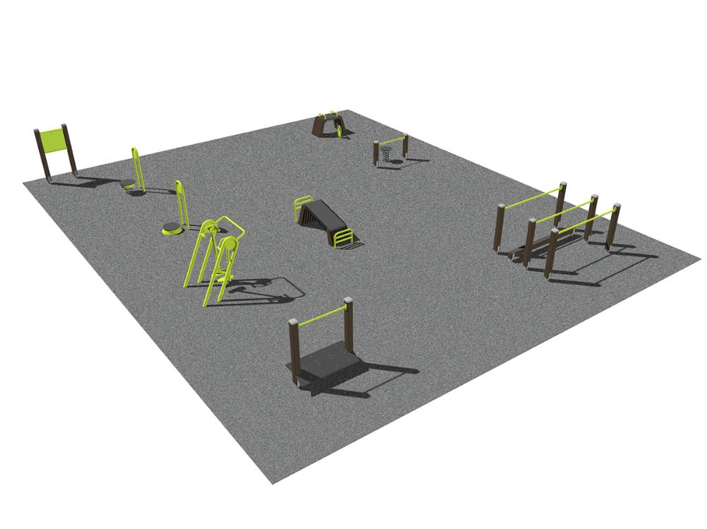 Seniorpark - bål och gång