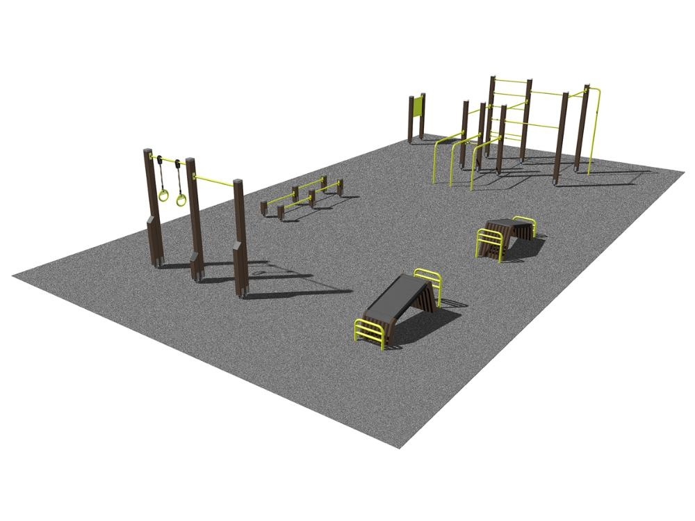 Streetworkout & Fitness area 1