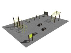 Streetworkout & Fitness area 3