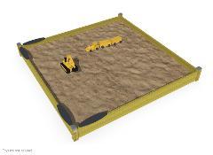 SANDBOX 3,3 X 3,3 M
