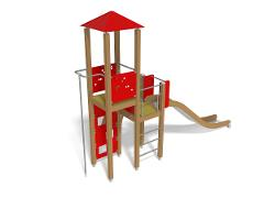 PLAY TOWER & SLIDE