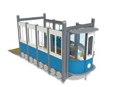 TRAM WITH RAMP