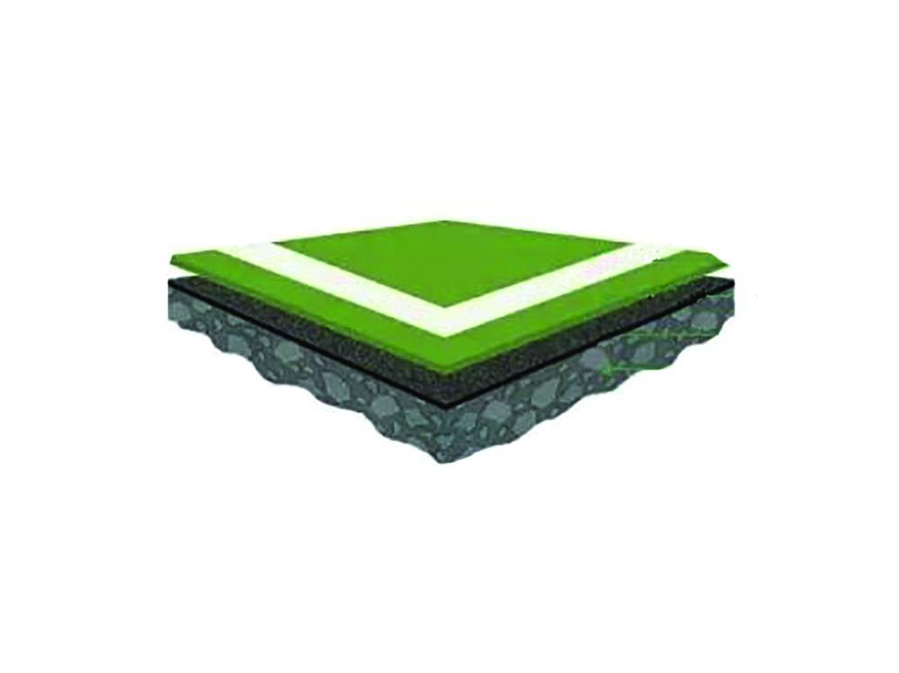 Plexipave-tennispinnoite