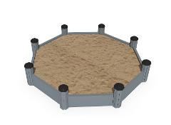 SANDBOX OCTAGONAL