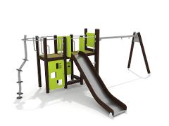 PLAY TOWER WITH SWING
