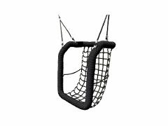 Inclusive basket swing seat