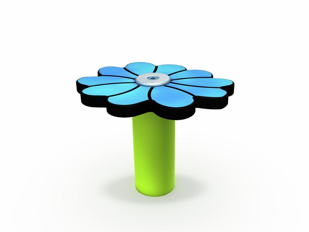 Mumin-Blume blau