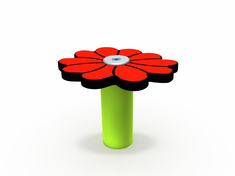 Muumi-kukka punainen