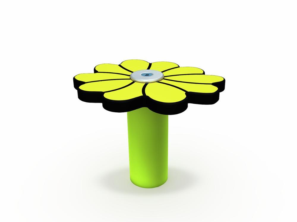 Muumi-kukka keltainen