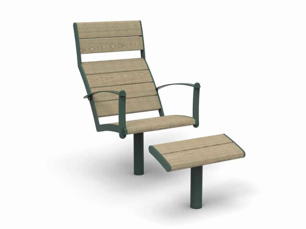 Nifo Easy Sun chair with foot rest