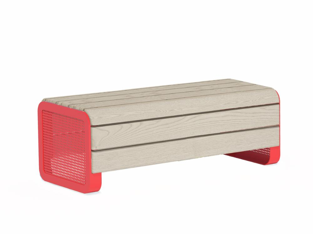 Chillout bench, linax, surface mounting