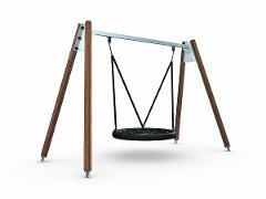 Flora Bird's Nest Swing (ASTM)