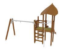 PLAY TOWER & SWING